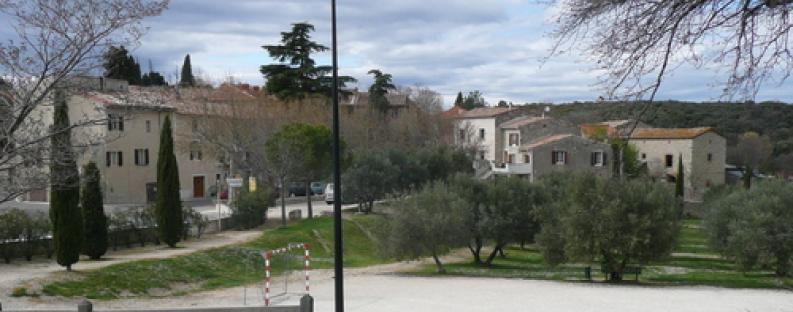 Vue du village Saint Bénézet
